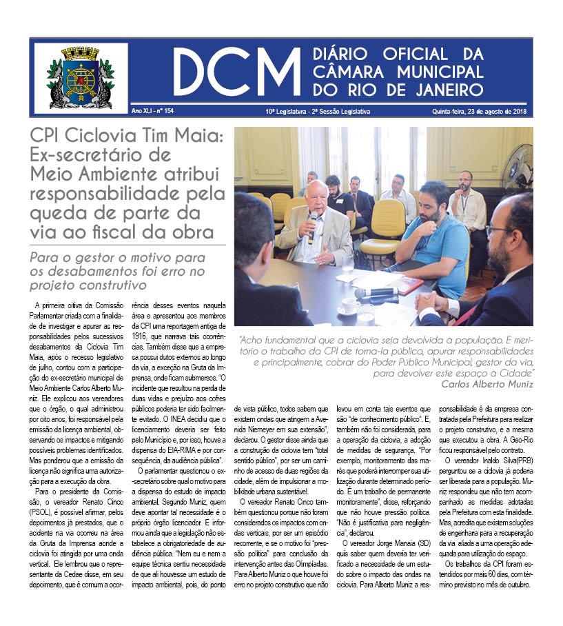 Diário da Câmara Municipal