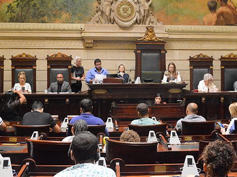 Acessibilidade à cultura em debate no Legislativo