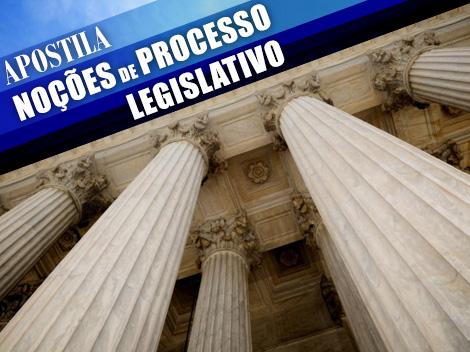 Manual disponibiliza informações sobre o processo legislativo