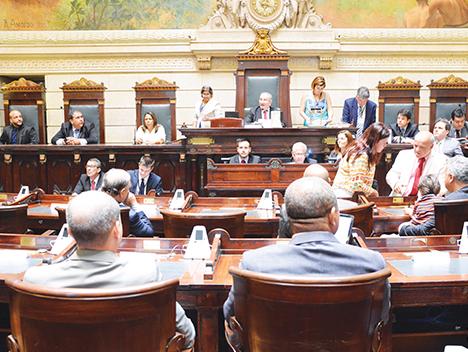 Legislativo tem nova Mesa Diretora para o biênio 2017 - 2018